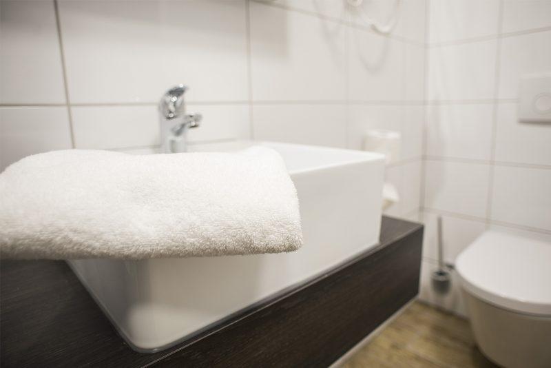 Fotografie Hotel de Jonge - badkamer