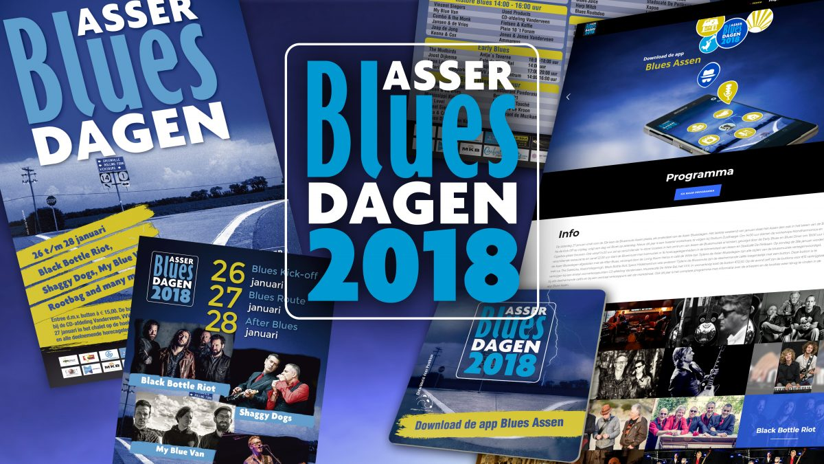 Design Asser Bluesdagen
