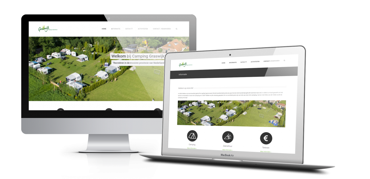 Webdesign Camping Graswijk