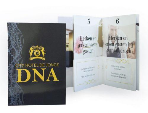 DNA-boekje Hotel de Jonge