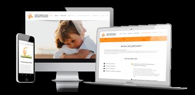 Webdesign Gastouderbureau Assen / Drenthe