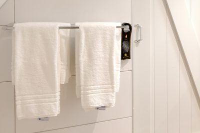 Handdoekhanger gebruik